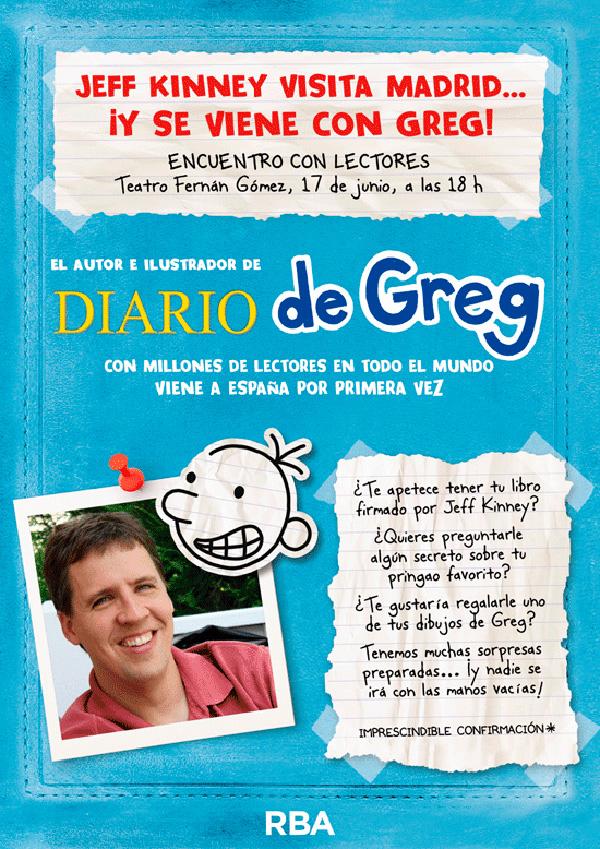El Diario de Greg | Teatro Fernán Gómez