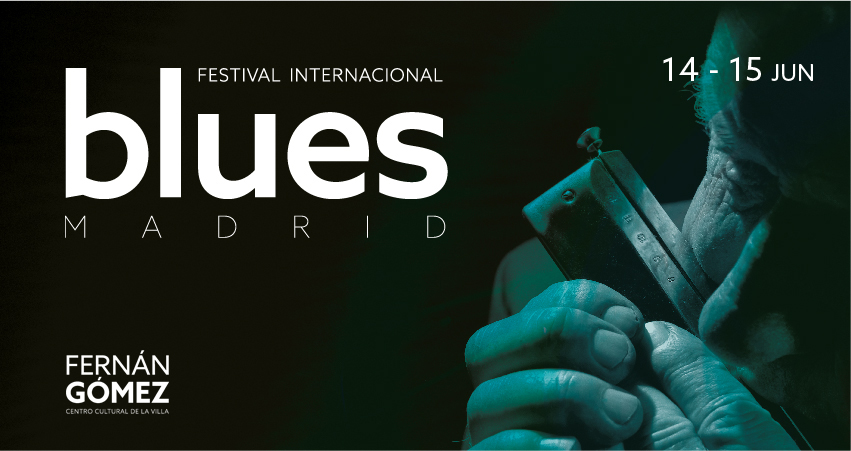 Cartel Festival Internacional Blues Madrid