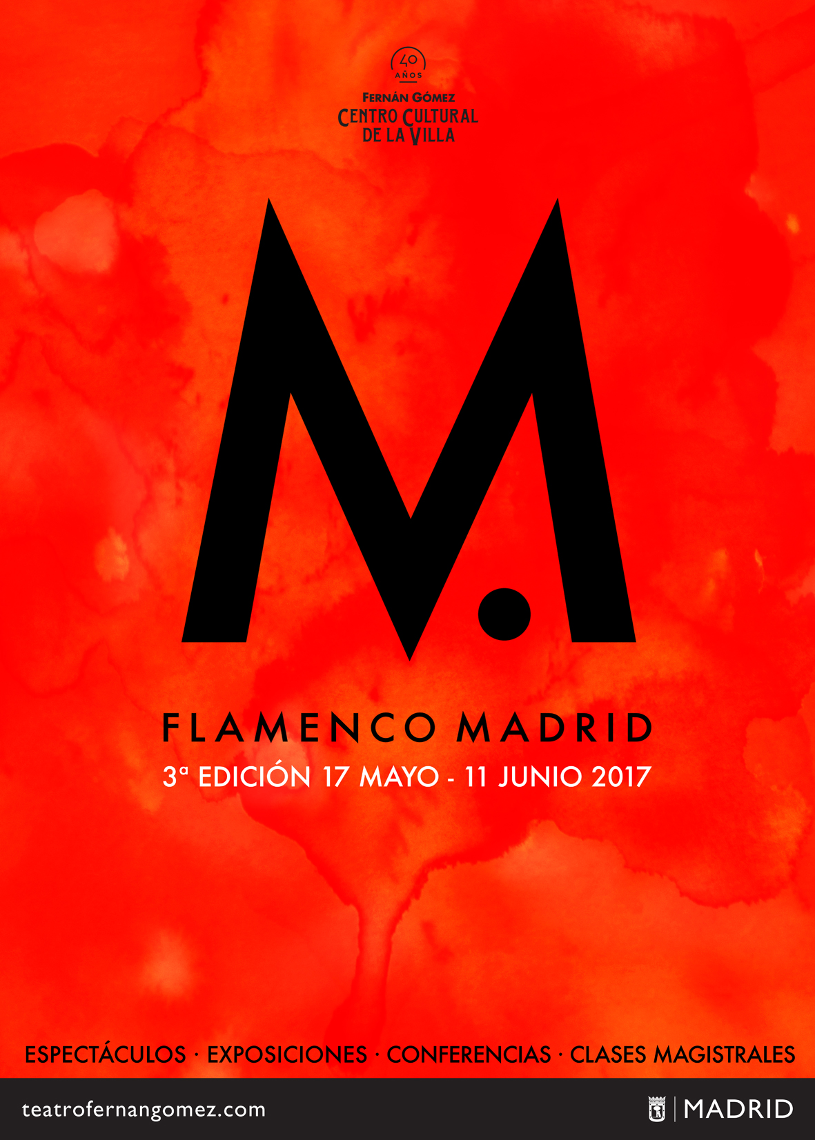 Cartel Flamenco Madrid 2017