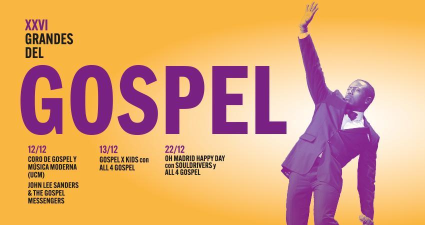 Grandes del Gospel 2020