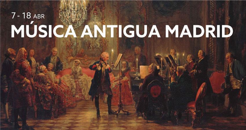 Música Antigua Madrid 2021