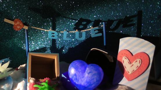 Foto Nido Dadá. Centro Dramático Rural - Espectáculo Blue